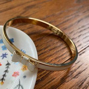 Kate spade white bracelet